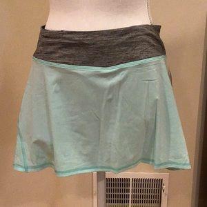 Lululemon pleated running skirt